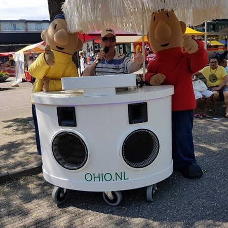 Mobile dj met buurman en buurman Ohio